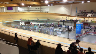Anadia Velodrome in Portugal hosts the UEC Junior and Under-23 Track Championships