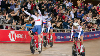 Men's Team Pursuit Track World Cup 2018 London win bronze.