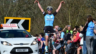Round one of the British Cycling Junior Road Series in Powys