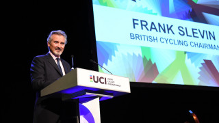 Frank Slevin to continue as British Cycling Chair