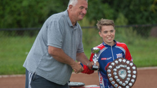 Terry Ashford awarded the Wilkinson Sword for services to Cycle Speedway