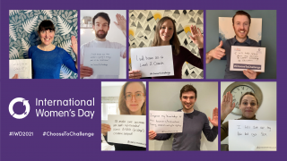 We #ChooseToChallenge on International Women's Day