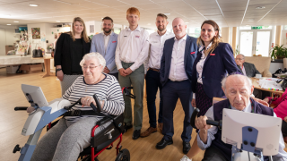 British Cycling and Sport England partner with Norwegian tech startup Motitech, enabling wider participation for UK care homes in the annual Road Worlds for Seniors
