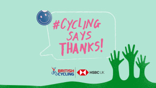 Cycling says thanks on Volunteers' Week