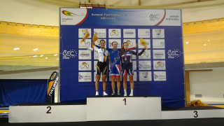 Elinor Barker wins gold at U23 European Track Championships