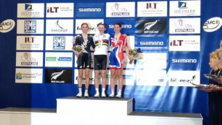 Second Silver for Barker in the Individual Pursuit