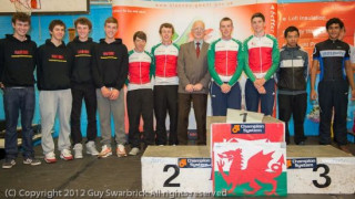 Team Wales at the Junior Tour of Wales