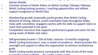 Welsh Cycling AGM announcement