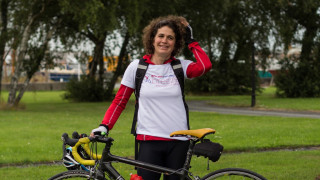'Mum's out on her bike!' Meet Breeze Champion Esther Griffiths