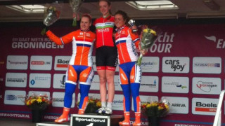 Amy Hill wins stage one of the Energiewacht Tour