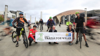 More support for #TrailsforWales as campaigners meet in Cardiff