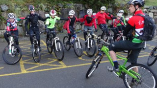 Youth mountain bikers take on the trails of Coed Y Brenin