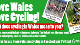 Love Wales, love cycling!
