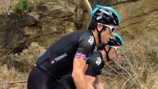 Podium finish for Geraint Thomas in the Tour Down Under