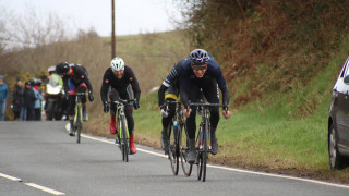 Jon Mould sprints to victory in the Tour of the Mining Valleys