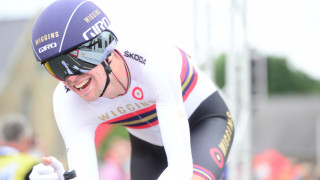 Davies writes time trial history at HSBC UK National Road Championships