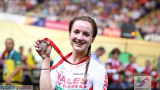 Elinor Barker claims her first Commonwealth medal in Glasgow