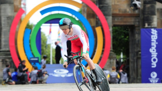Commonwealth bronze for Geraint Thomas in the time trial