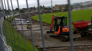 Construction begins at Carmarthen Velodrome