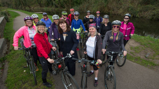 Minister supports opportunities for more women and girls to cycle