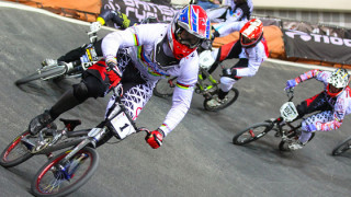 Phillips and Evans dominant at British BMX Series opener in Manchester