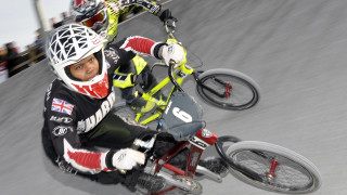 Kent's Cyclopark hosts the British BMX Series