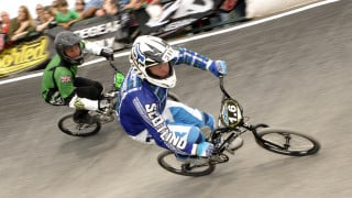 Record numbers at British BMX Championships