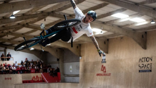 Coleborn and Worthington shine in inaugural BMX Freestyle Park National Championships