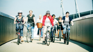 Inspirational women's cycling project Breeze going for national glory