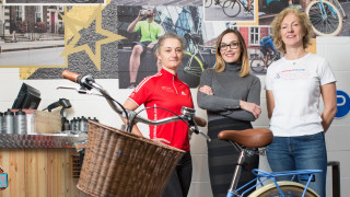 British Cycling's Breeze Network joins up with Halfords to get women