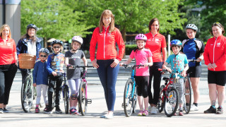 Joanna Rowsell Shand announced as new HSBC UK Breeze ambassador
