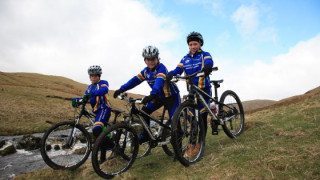 School children get behind Get Britain Cycling campaign