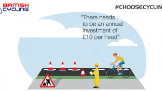 Help secure long-term funding for cycle infrastructure