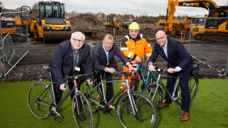 Work begins on Doncaster community cycling facility