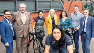 Shanaze Reade announced as West Midlands Cycling and Walking Ambassador