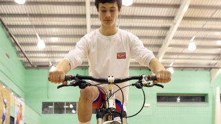 Young cyclists prepare for National Talent Camp