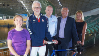 British Cycling and Trafford College celebrate new partnership