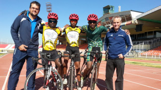 British Cycling coach educator supports cycling development in Namibia