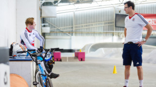 BMX coaching weekend with Grant White