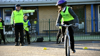 British Cycling teams up with Halton Borough Council to get school children on their bikes