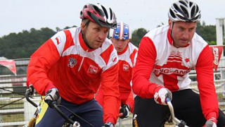 British Lions visit English Institute of Sport to begin preparation for cycle speedway's 'Ashes'