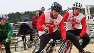 Great Britain Cycle Speedway Team prepares for Worlds