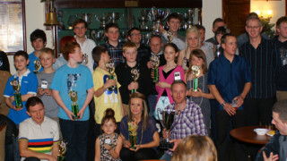Jason Ashford crowned Rider of the year at Leicester Cycle Speedway Awards