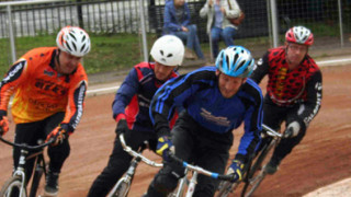 Cycle speedway Euro-Vets continues at Exeter