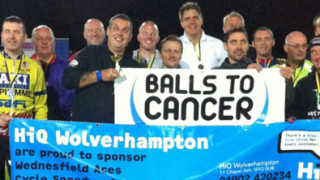 Balls to Cancer Charity Match