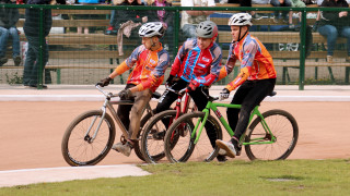 British Cycling Cycle Speedway Supertrax Series gets under way in Manchester