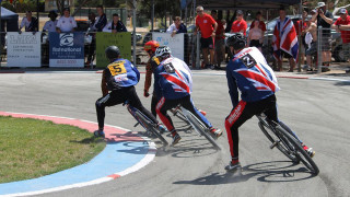 Great Britain Cycling Team win Cycle Speedway Junior Ashes Series in Australia