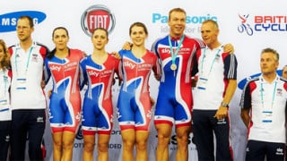 Brailsford praises Great Britain riders after London Track World Cup showing