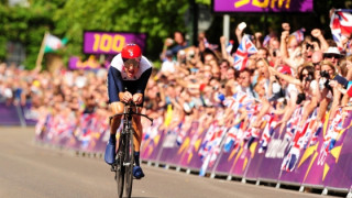 Wiggins wins Gold in Olympic Time Trial