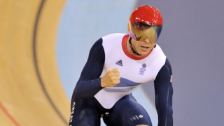 Great Britain storm to men's team sprint gold with world record